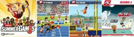 Playman: summer games 3 - Mobile games