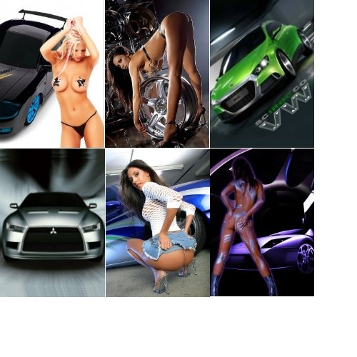 Mobile Wallpapers - Cars and Girls
