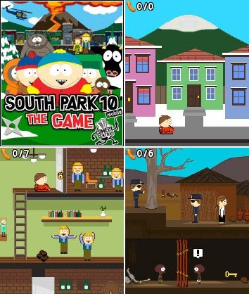 South Park 10 The Game (JAVA)