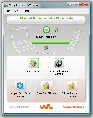 Sony Ericsson PC Suite 5.009.00