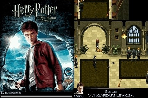 Harry Potter And The Half-Blood Prince Java игра
