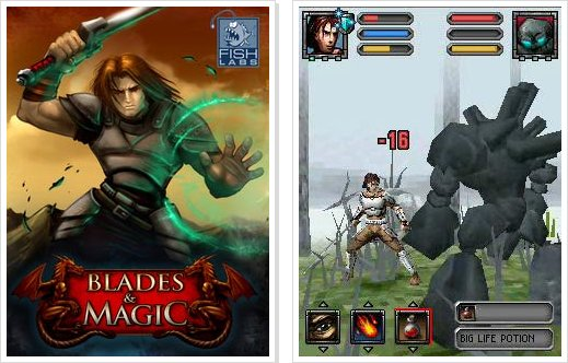 Blades and Magic 3D (JAVA)
