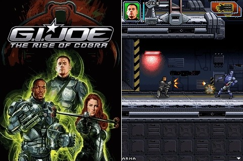 G.I.Joe The Rise of Cobra | Бросок кобры | Java Игра