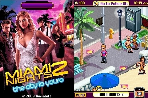 Miami Nights 2 the city is yours | Java Игры