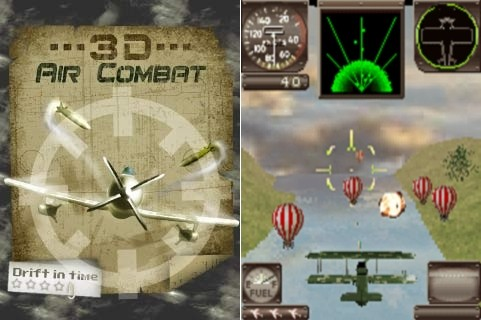 3D Air Combat Drift In Time | Java игра