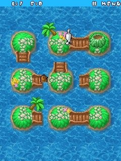 Bun & Bunee Island Pop / Java игра