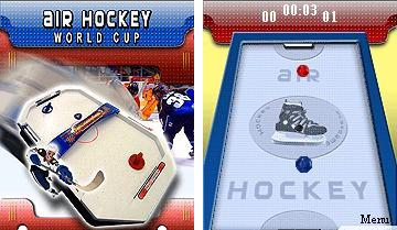Air Hockey World Cup - Mobile Java Games
