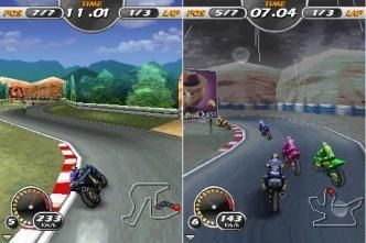 3D Moto Racing Evolved - Mobile Java Games