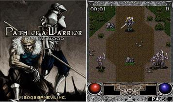 Path Of A Warrior: Imperial Blood - Mobile Java Games