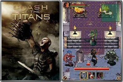 Clash Of The Titans: The Movie - Mobile Java Games