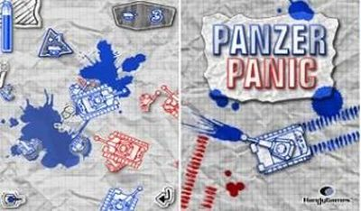 Panzer Panic - Mobile Java Games