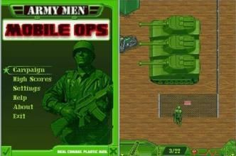 Army Men: Mobile Ops - Mobile Java Games