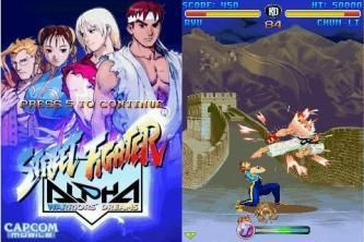 Street Fighter: Alpha Warriors Dreams - Mobile Java Games