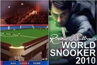 Ronnie OSullivans World Snooker 2010 - Mobile Java Games