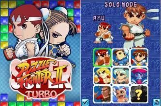 Super Puzzle Fighter II Turbo - Mobile Java Games