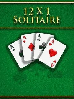 12x1 Solitaire - Mobile Java Games