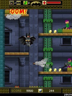 Lego Batman: The Mobile Game / Лего Бэтмэн / Java