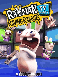 Rayman: Raving Rabbids TV Party от Gameloft 2008 [Java]