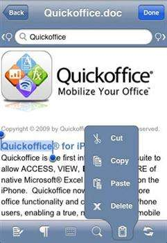 Quickoffice Mobile Office Suite 3.0.1