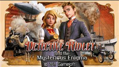 Detective Ridley and the Mysterious Enigma 400x240 touch