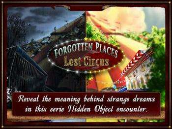 Forgotten Places – Lost Circus HD [1.2][iPhone/iPod]