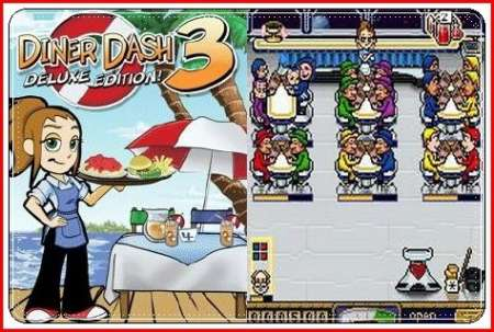 Diner Dash 3 Deluxe Edition / Java