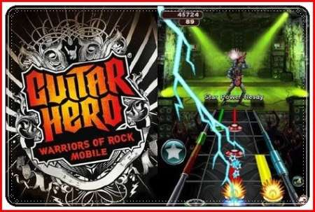 Guitar Hero 6: Warriors of Rock+Touch Screen/Stylus / Guitar Hero 6: Воины рока / Java