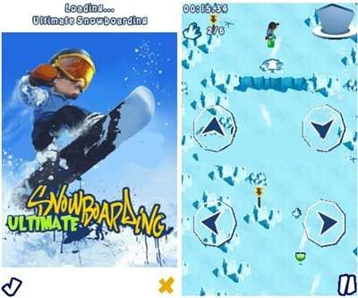 Ultimate Snowboarding 240x320 l 240x400 TOUCH