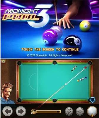 Java игра Midnight Pool 3