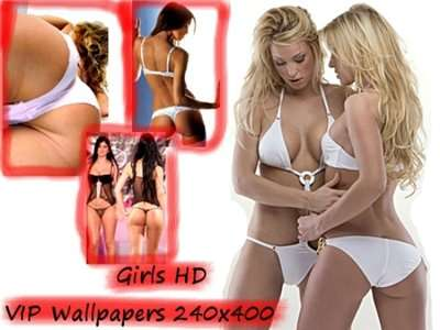 HD VIP Wallpapers 240x400 Girls
