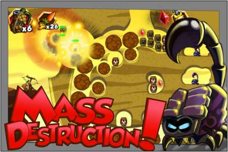 Monkey Quest: Thunderbow Extreme v1.4 [.ipa/iPhone/iPod Touch]