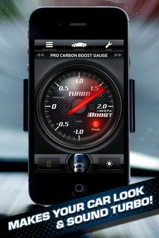 iBoost: Turbo Your Car! v4.0.3 [.ipa/iPhone/iPod Touch]
