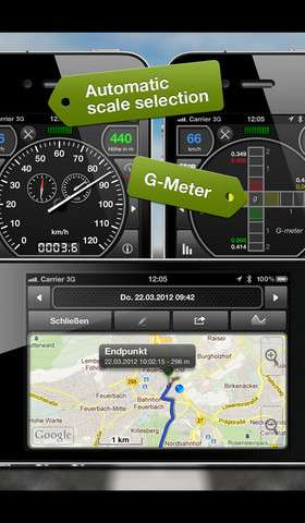 GPSSpeed HD v1.6.0 [RUS] [.ipa/iPhone/iPod Touch/iPad]