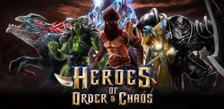 Heroes of Order & Chaos - игра для Android