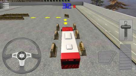Bus Parking 3D v1.0 [.ipa/iPhone/iPod Touch/iPad]