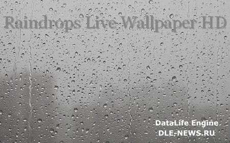 Raindrops Live Wallpaper HD v1.0 (Android)