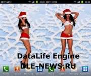 Sexy Miss Santa Dancing LWP v1.03 (Android)